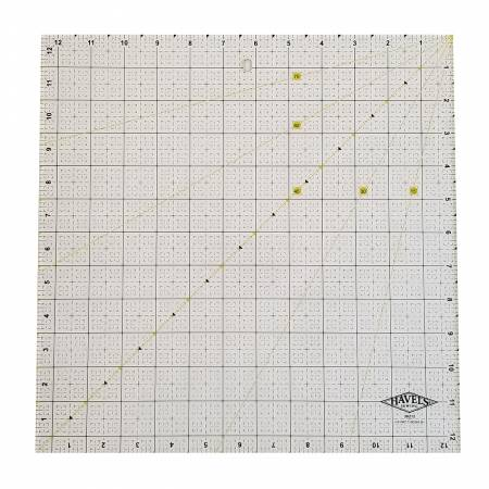 Square Fabric Ruler 12-1/2in x 12-1/2in